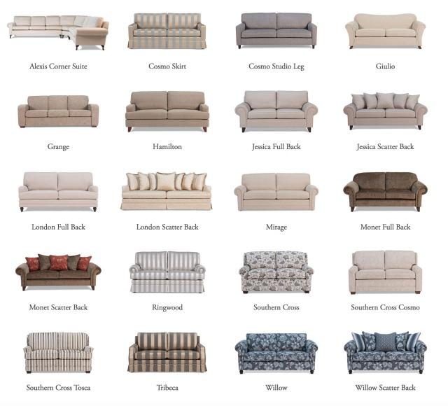 classic hamptons sofas