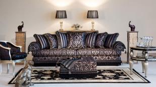 Camelot Fringe Sofa