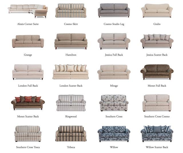 hamptons sofas