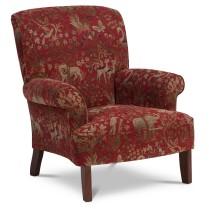 _BRI9538-Charlotte-animal-print-red-arm-chair