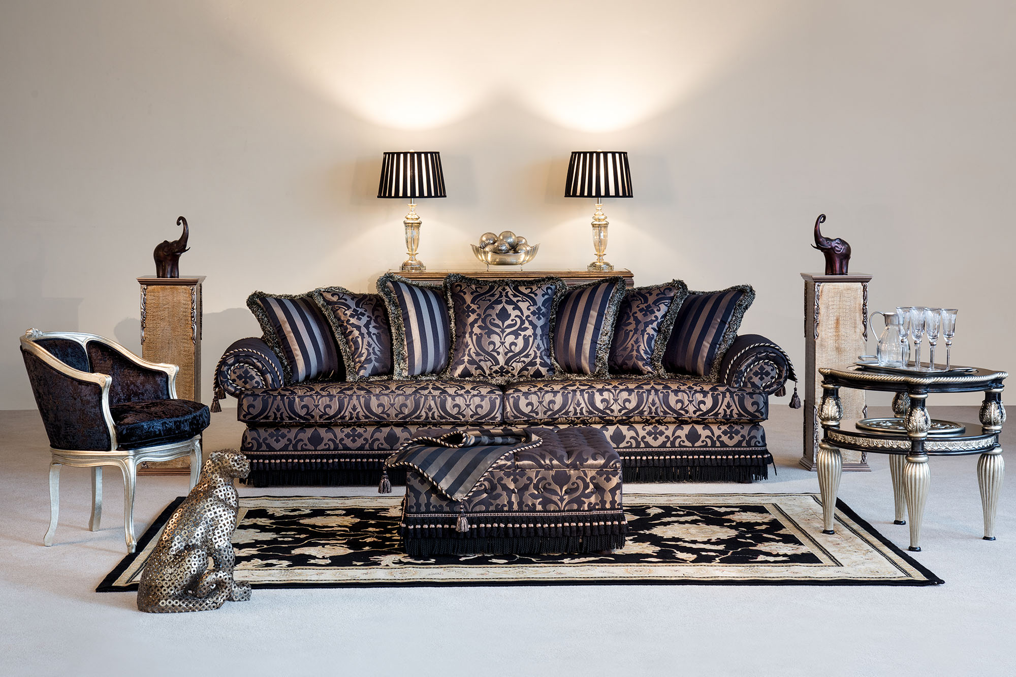 Camelot Scatterback Sofa with matching Ottoman.jpg