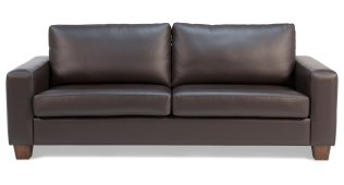 Havana Leather 3 Seat Sofa