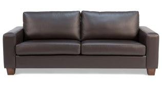 Havana Leather 3 Seat Sofa