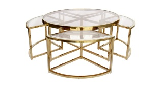 Messina 5pc Nesting Coffee Table