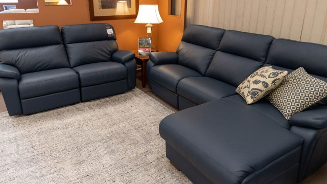 Sorrento Leather Recliner 9-38 copy